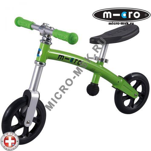Беговел Micro G-bike+light green (Микро Джи-Байк плюс Лайт зеленый)