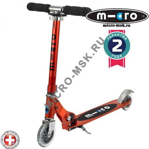 Самокат Micro scooter Sprite red (Микро скутер Спрайт красный)