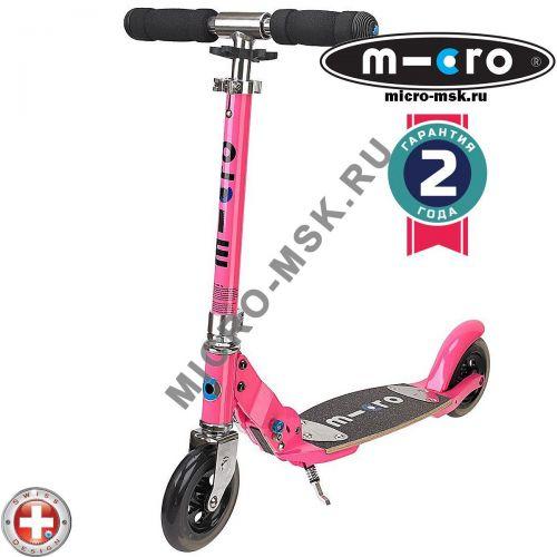 Самокат Micro scooter Flex pink (Микро скутер Флекс розовый)