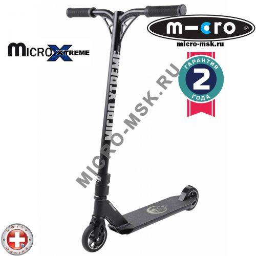 Самокат трюковой Micro MX Crossneck black