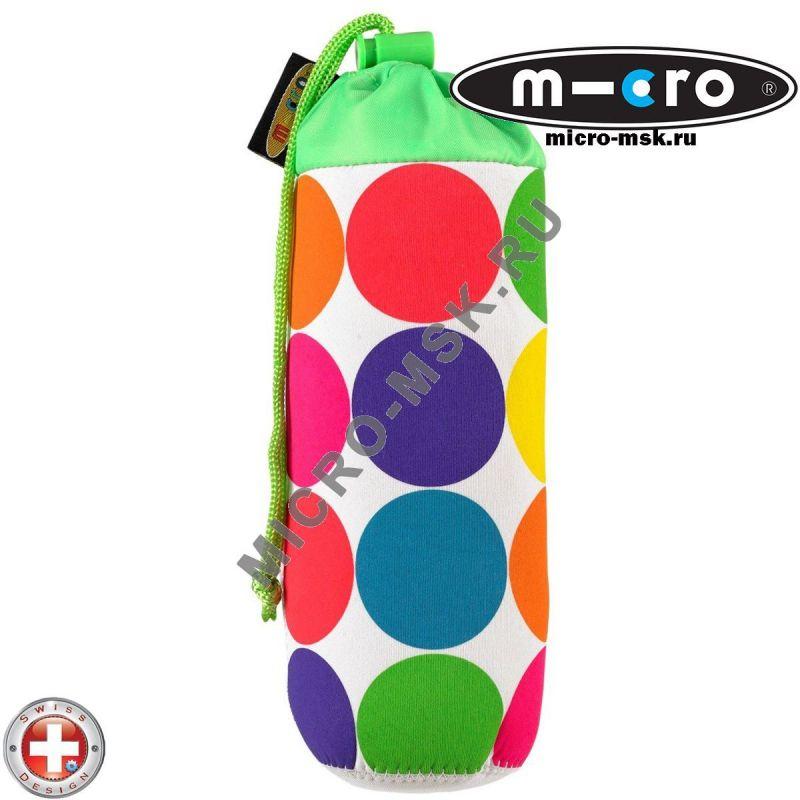 Держатель для бутылочки Micro Neon dot