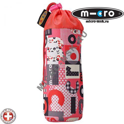 Держатель для бутылочки Micro Word coral pink