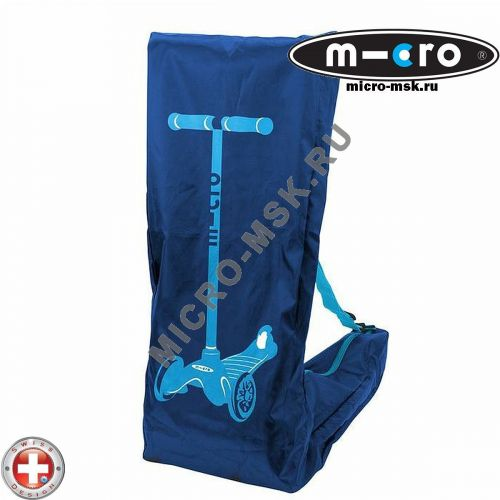Чехол Micro blue для переноски самоката Mini Micro