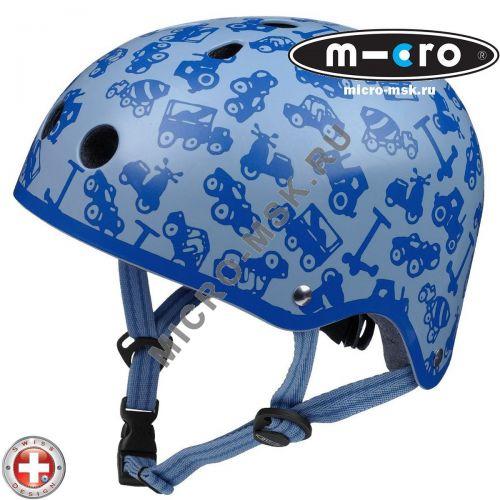 Защитный шлем Micro blue размер S (44-48,5cm)