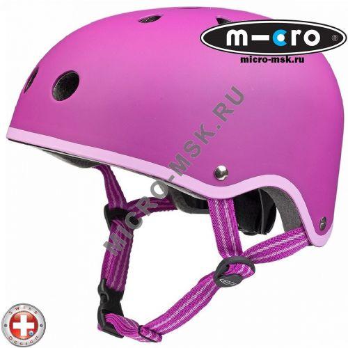 Защитный шлем Micro Candy Raspberry размер М (53-58cm)
