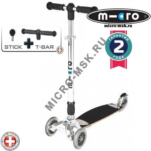 Самокат трехколесный Micro Kickboard Original T-bar + Joystick (Микро Кикборд Ориджинал Т-бар + Джойстик)