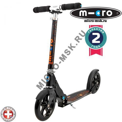 Самокат Micro scooter Black (Микро скутер Блэк)