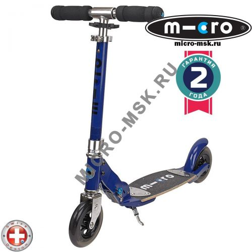 Самокат Micro scooter Flex sapphire blue (Микро скутер Флекс сапфир синий)