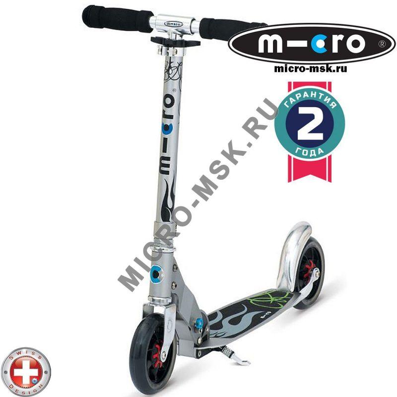 Самокат Micro scooter Speed + alu (Микро скутер Спид плюс алю)