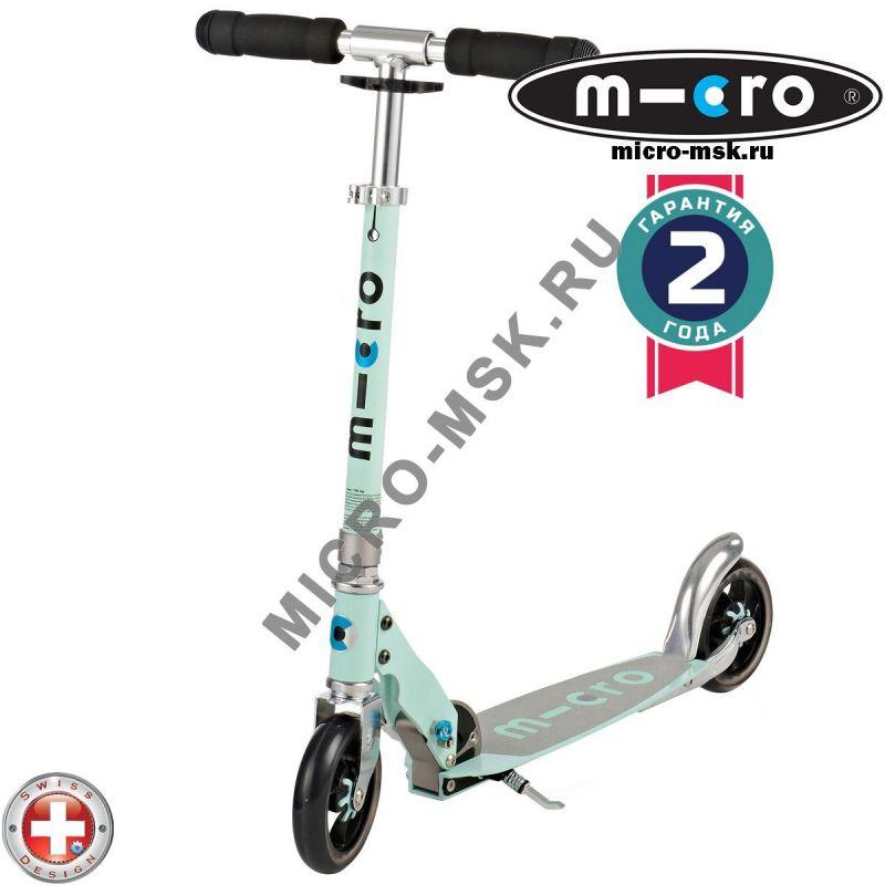 Самокат Micro scooter Speed + mint (Микро скутер Спид плюс минт)