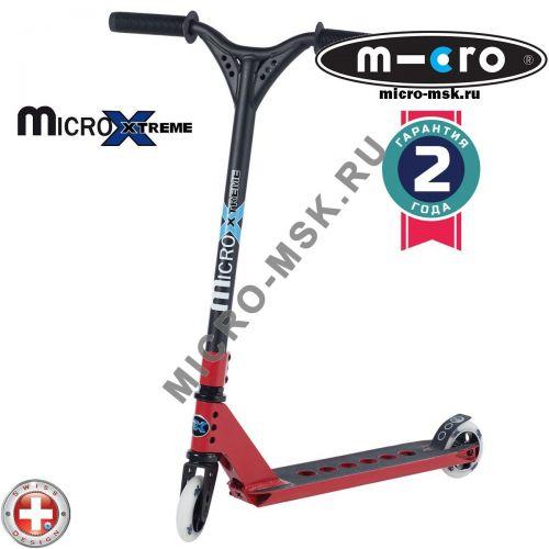 Трюковой самокат Micro MX Trixx red