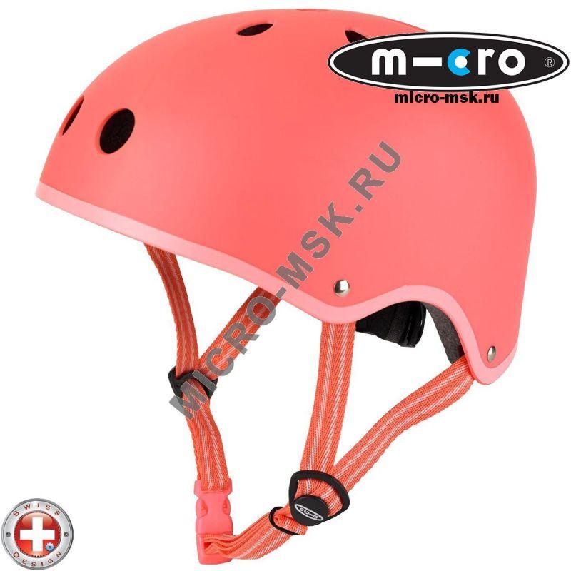 Защитный шлем Micro Сoral pink размер M (53-58cm)