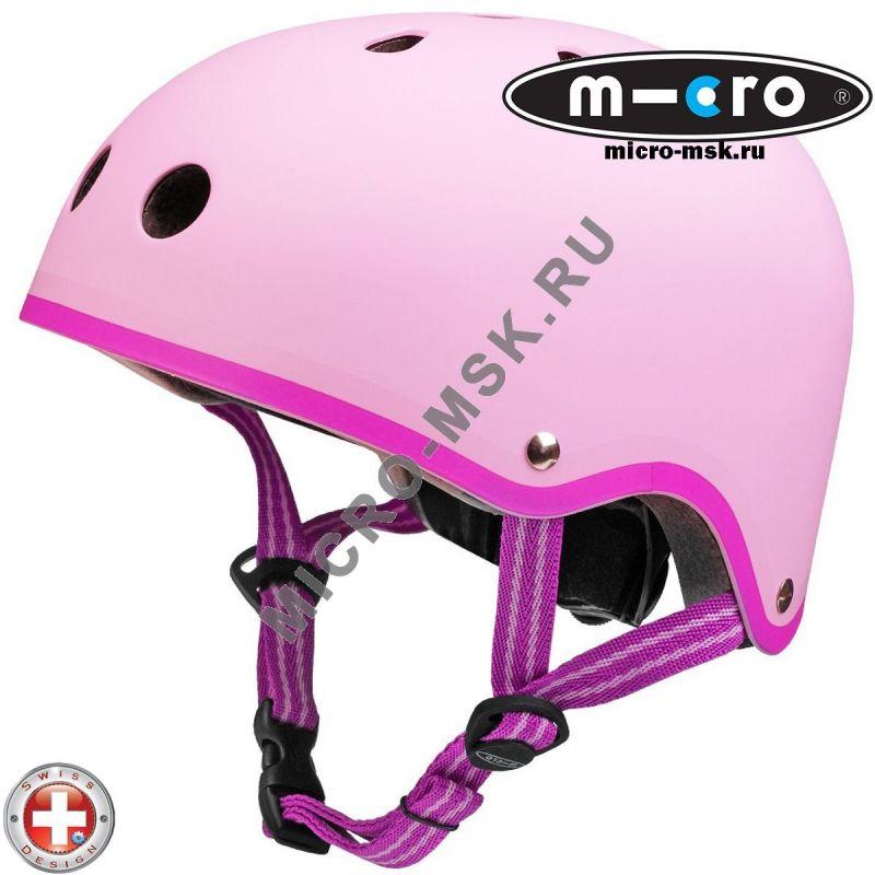 Защитный шлем Micro Candy pink размер M (53-58cm)