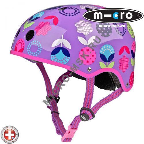 Защитный шлем Micro Floral размер M (53-58cm)