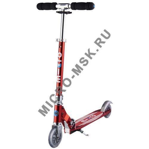Самокат Micro scooter Sprite Retro red (Микро скутер Спрайт Ретро красный)
