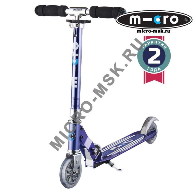Самокат Micro scooter Sprite Retro blue (Микро скутер Спрайт Ретро синий)