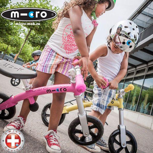 Беговелы G-Bike - велосипеды без педалей