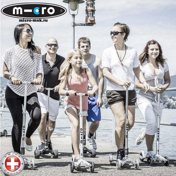Micro Kickboard - трехколесные самокаты для взрослых , подростков и детей от 8 лет